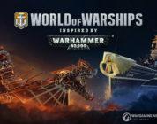 Warhammer 40,000 y World of Warships unen fuerzas con una nueva colaboración disponible hoy