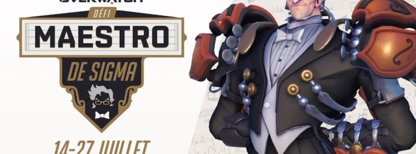 Overwatch – ¡Sal al escenario con el desafío Maestro de Sigma!