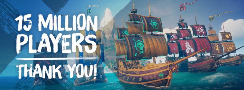 Más de 15 millones de jugadores han pasado por Sea of Thieves