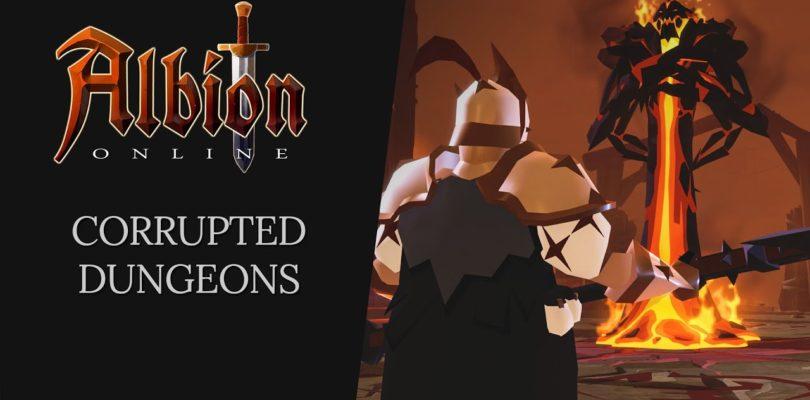 Albion Online nos habla de las mazmorras corruptas