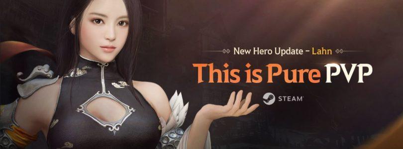 Lahn, el nuevo héroe de Shadow Arena, llega junto a un nuevo modo de juego