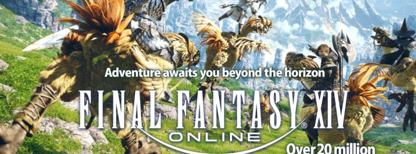 Final Fantasy XIV supera los 20 millones de jugadores y amplia mucho su prueba gratuita