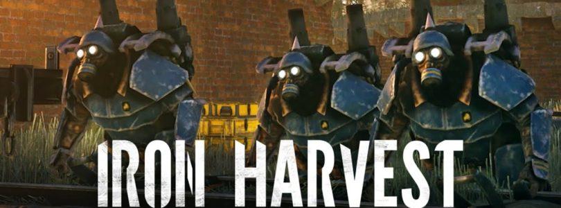Juega ahora a la beta abierta del RTS Iron Harvest 1920+