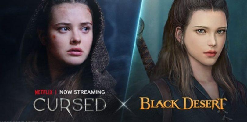 Black Desert lanza el contenido crossover basado en la Serie Original de Netflix, Cursed