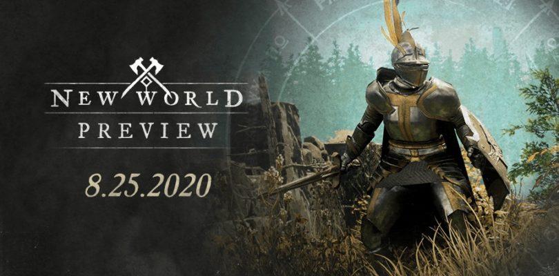 La Preview de New World ya la han jugado más de 50.000 personas