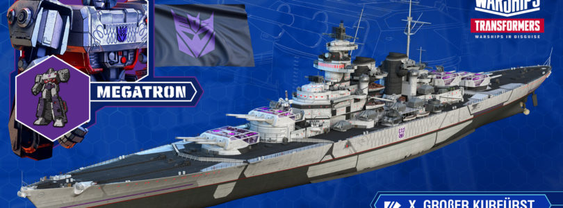 World of Warships anuncia un crossover con Transformers