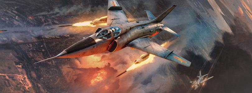 War Thunder agrega aviones de ataque supersónicos Europeos y los primeros pilotos de combate Afroamericanos