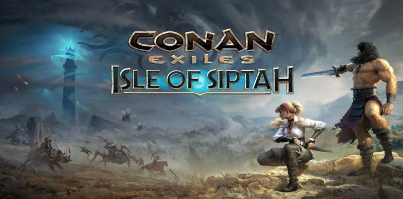 Conan Exiles añade campamentos de NPCs a la Isle of Siptah