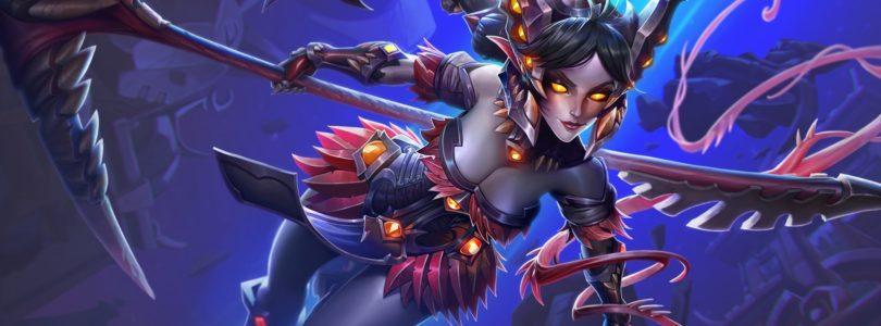 Vora, la heraldo del caos, es la nueva campeona de Paladins