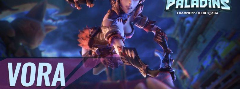 Vora, una nueva campeona, se une al Reino de Paladins