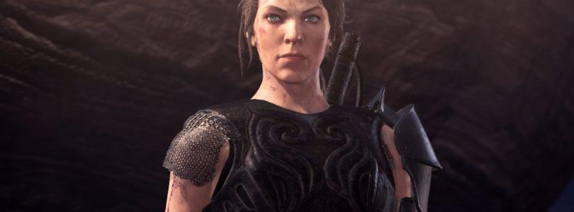 Colaboración de Monster Hunter World: Iceborne con la nueva película protagonizada por Milla Jovovich