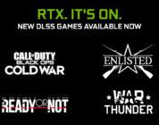 NVIDIA añade DLSS y mejora el rendimiento 4K en COD: Black OPs Cold War, Enlisted, War Thunder y Ready or Not