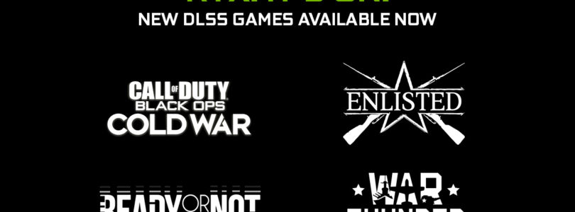 NVIDIA añade DLSS y mejora el rendimiento 4K en COD: Black OPs Cold War, Enlisted, War Thunder y Ready or Not