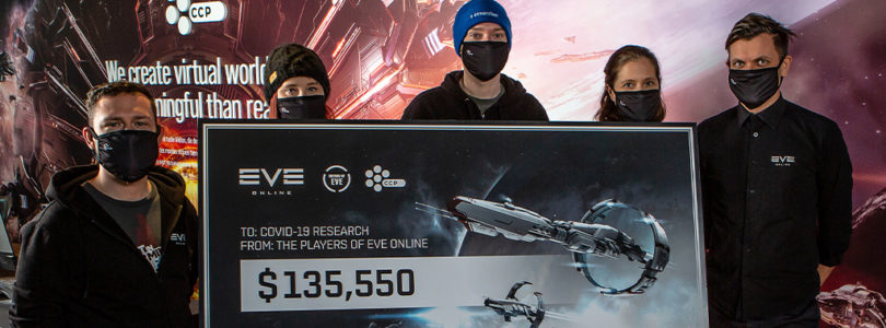 EVE Online recauda 135.000 dólares para la lucha contra el Covid