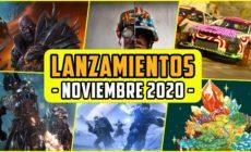 Lanzamientos NOVIEMBRE 2020 – Nuevos Co-op, Shooter, MMOs…