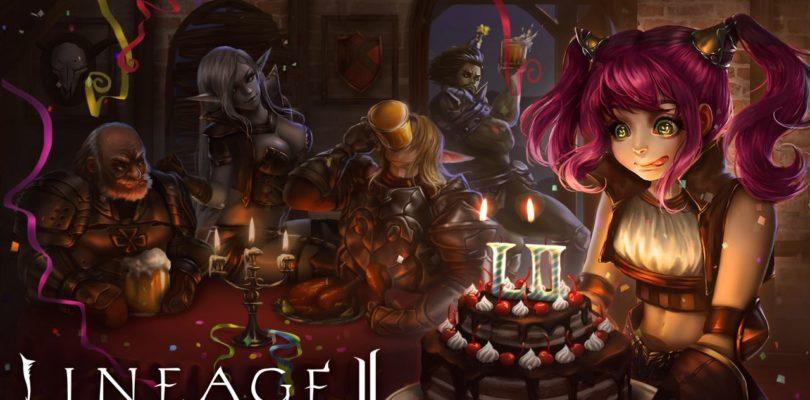 ¡Lineage 2 celebra su aniversario!