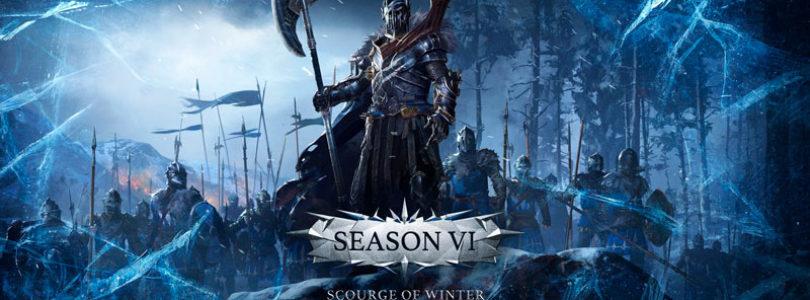 Season VI: Scourge of Winter llegará el 21 de diciembre a Conqueror's Blade