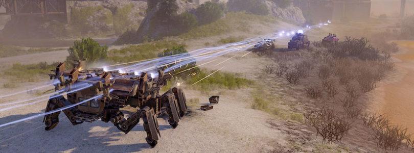 Los jugadores de Crossout participan en batallas por el agua limpia