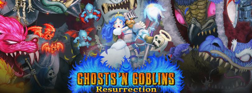 Capcom anuncia GHOSTS 'N GOBLINS RESURRECTION Y CAPCOM ARCADE STADIUM para Switch en formato digital en 2021