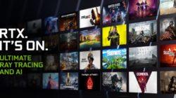 NVIDIA anuncia los próximos juegos con RTX, DLSS y Reflex