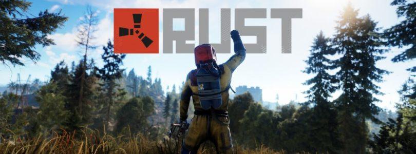 La versión para consolas de RUST está muy cerca de PlayStation 4 y Xbox One