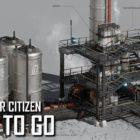 Star Citizen nos enseña el proceso de crear logos, edificios y vehículos