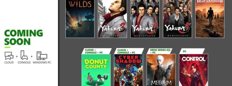 Control, Desperados III y Yakuza entre los nuevos lanzamientos del mes en el Xbox Game Pass