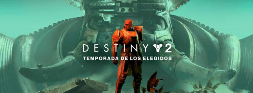 Ya está disponible la Temporada de los Elegidos en Destiny 2