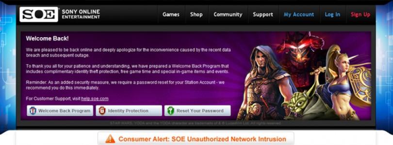 Sony reestablece su servicio online de PC y PS3