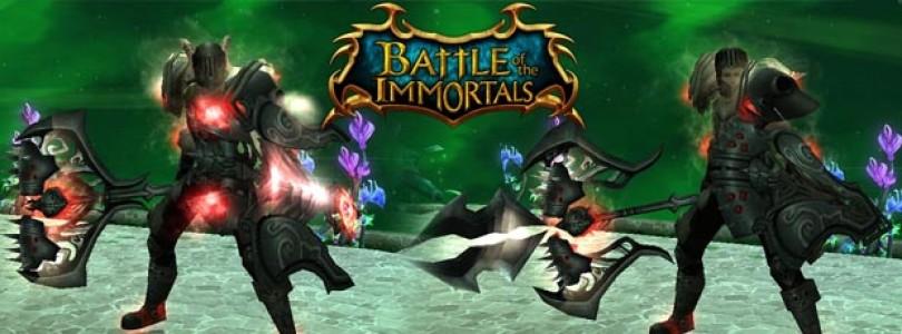 Llega la actualización Titan para Battle of the Immortals