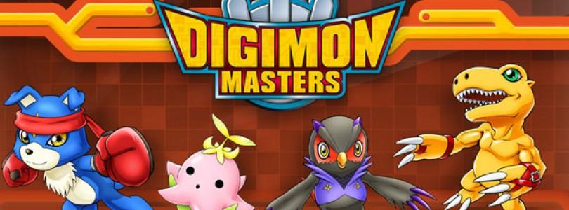 Digimon Masters: Lanzamiento oficial