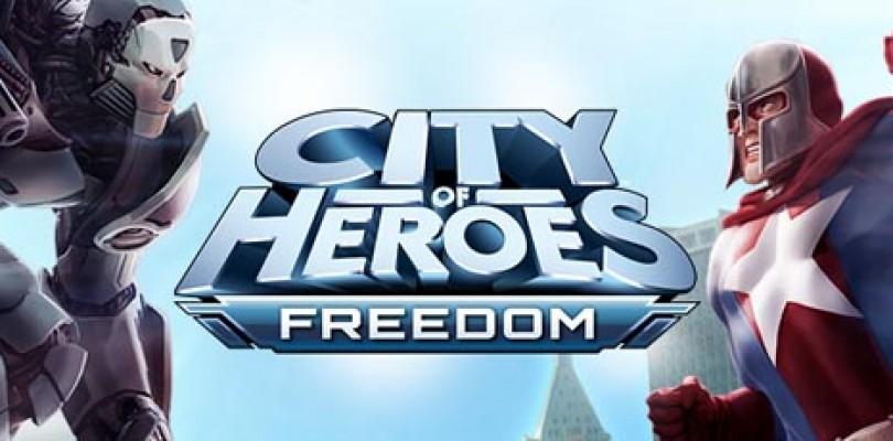Reactivación de cuentas de City of Heroes: Freedom