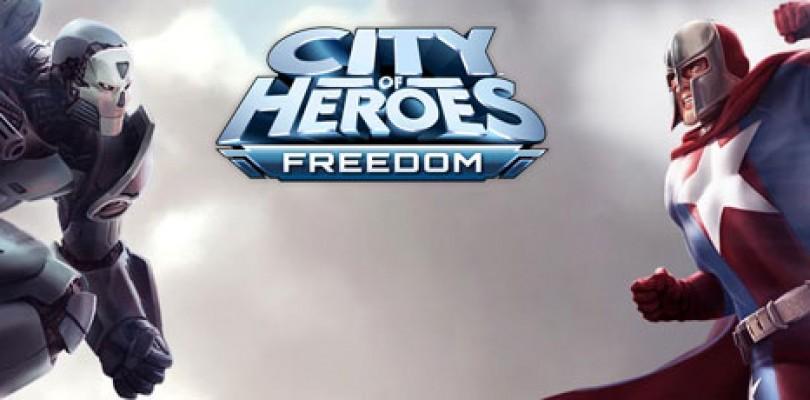 City of Heroes Freedom ya disponible para todo el mundo