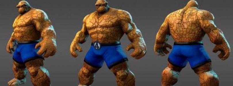 Marvel Universe, revela un nuevo personaje: La Cosa