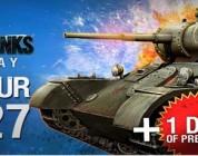 Consigue una clave regalo para World of Tanks