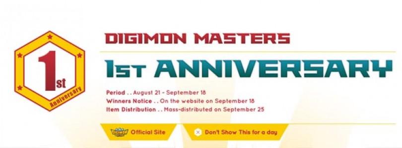 Digimon Master Online cumple un año