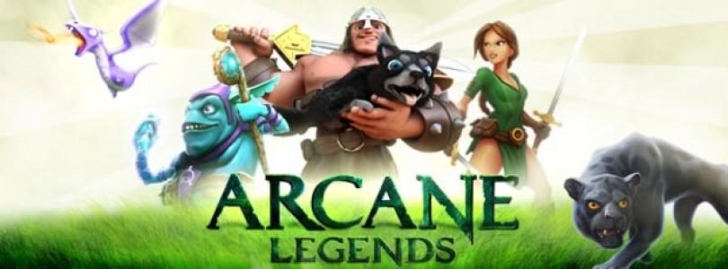 Arcane Legends: Curse of the Cryostar se lanzará esta semana