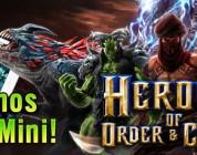 ¡Sorteamos un iPad Mini con Heroes of Order and Chaos!