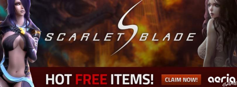 Claves regalo para la beta abierta de Scarlet Blade