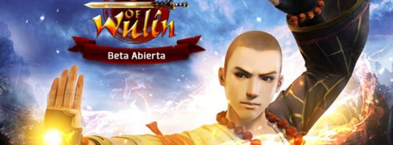 La beta abierta de Age of Wulin dará comienzo el 18 de Julio