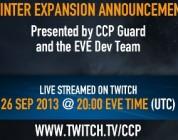 EVE Online: Winter primeros detalles el 26 de Septiembre