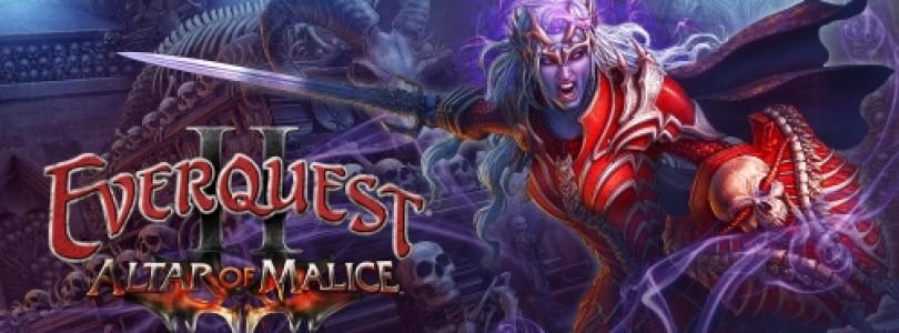 Everquest II: La expansión Altar of Malice ya está disponible