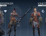 Presentadas las 13 clases de personaje disponibles en el lanzamiento de Skyforge