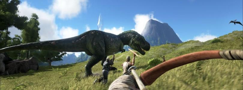 Anunciada la fecha de lanzamiento de ARK en PlayStation 4