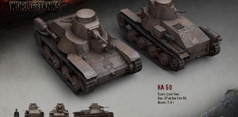 World of Tanks: El parche 9.10 trae refuerzos para los japoneses