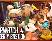 Overwatch: Tracer y Bastion