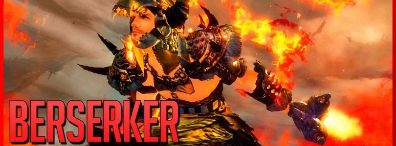 Guild Wars 2: HoT – El Berserker, la especialización élite del Guerrero