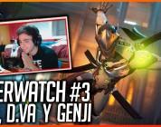 OVERWATCH: Partidas con Genji, D.va y Mei