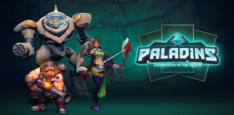 ¡Sorteazo de Paladins – Digital Deluxe Edition, 5 Champions Packs y 5 Battle Pass!