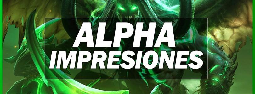 World of Warcraft: Impresiones de la Alpha